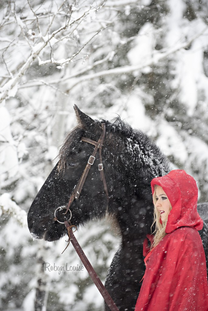 Little Red Riding Hood and Her Horse Amigo